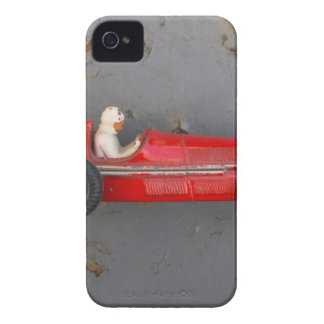 Red vintage toy car iPhone 4 Case-Mate case