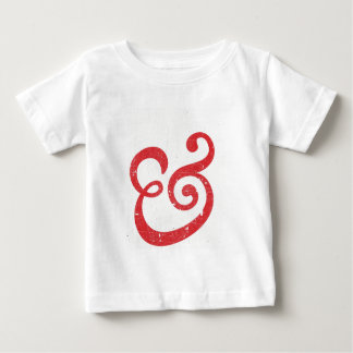 Red Vintage Typography Baby T-Shirt