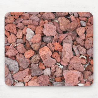 Red Volcanic Rocks Ground Cover Mouse Pad