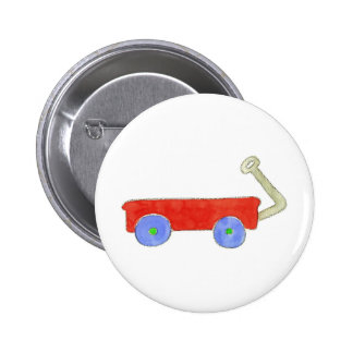 Red Wagon Buttons