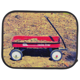 Red Wagon Car Mat