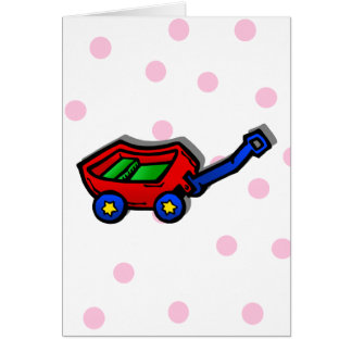 Red Wagon Card