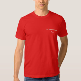 Red Wagon Family To Shirt