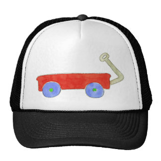 Red Wagon Trucker Hats