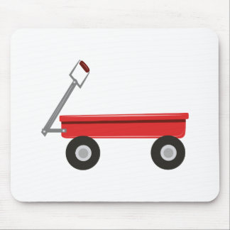 Red Wagon Mouse Pad