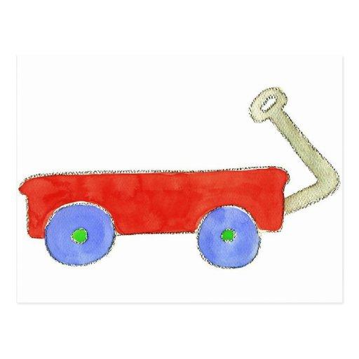 Red Wagon Postcards