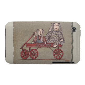 Red Wagon, Rabbit & Dolls Case-Mate iPhone 3 Cases