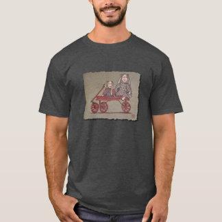 Red Wagon, Rabbit & Dolls T-Shirt