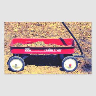Red Wagon Stickers