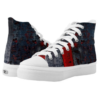 Red Walkers High Tops