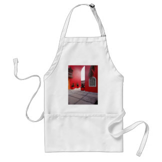 Red Wall Standard Apron