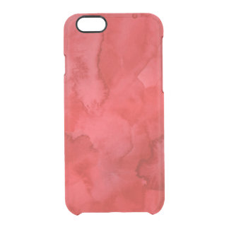 Red Watercolor iPhone 6/6s Case
