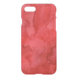 Red Watercolor iPhone 7 Case