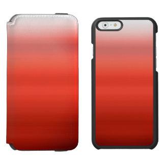 Red Watercolor Ombre Incipio Watson™ iPhone 6 Wallet Case