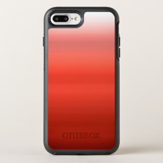 Red Watercolor Ombre OtterBox Symmetry iPhone 7 Plus Case