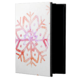 Red Watercolor Snowflakes Powis iPad Air 2 Case