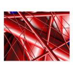 red web postcard