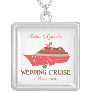 Red Wedding Cruise Necklace Gift