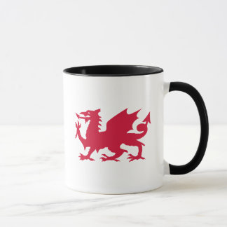 Red Welsh Dragon Mug