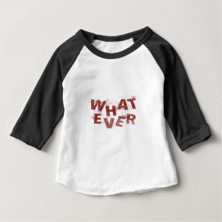Red Whatever PNG Baby T-Shirt