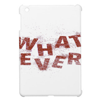 Red Whatever PNG Case For The iPad Mini