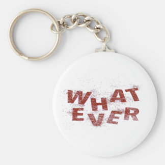 Red Whatever PNG Key Ring