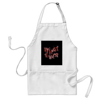 Red Whatever Standard Apron
