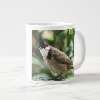 Red-Whiskered Bulbul 20 oz. Mug by RoseWrites
