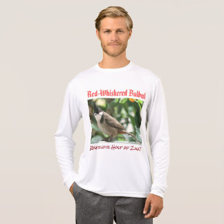 Red-Whiskered Bulbul Zika Host by RoseWrites T-Shirt