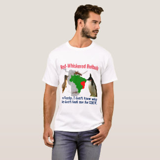 Red-Whiskered Bulbuls in Brazil by RoseWrites T-Shirt