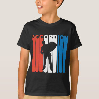Red White And Blue Accordion T-Shirt