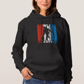 Red White And Blue Bowling Champion Hoodie