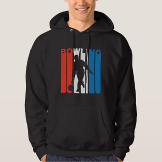 Red White And Blue Bowling Hoodie