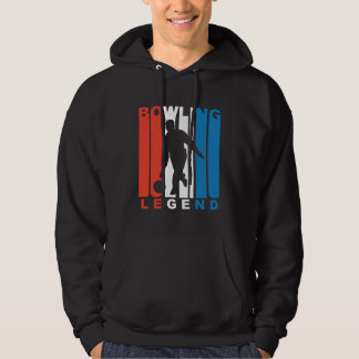 Red White And Blue Bowling Legend Hoodie