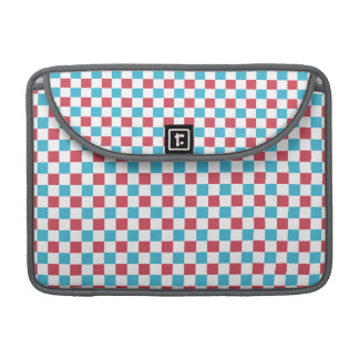 Red, White, and Blue Checkered MacBook Pro Sleeve