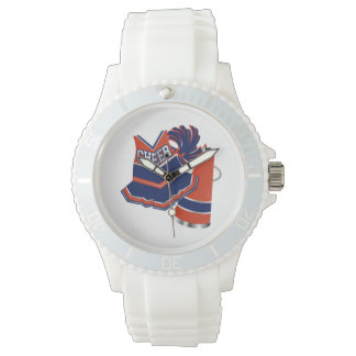 Red White and Blue Cheer Watch