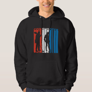 Red White And Blue Coinshooter Metal Detecting Hoodie