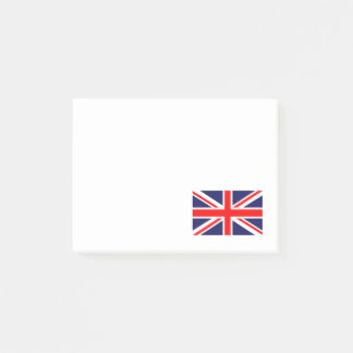 Red White and Blue Cross Flag of Great Britain Post-it Notes