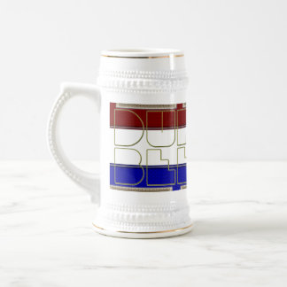 Red White and Blue DUH BEERS Brewing Company Mug