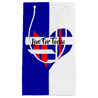 Red White and blue Favor Gift Bag