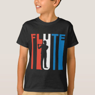 Red White And Blue Flute T-Shirt