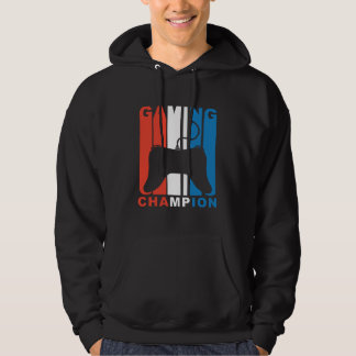 Red White And Blue Gaming Champion Video Games Hoodie