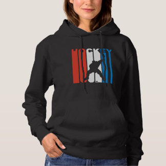 Red White And Blue Hockey Hoodie
