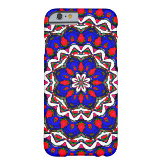 Red White And Blue Mandala Barely There iPhone 6 Case
