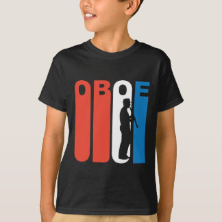 Red White And Blue Oboe T-Shirt