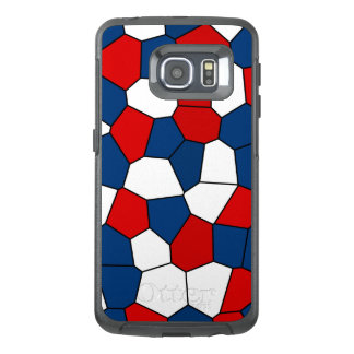 Red, White and Blue Pattern OtterBox Samsung Galaxy S6 Edge Case