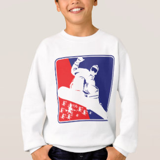 Red-White-and-Blue-Snow-Boa Sweatshirt
