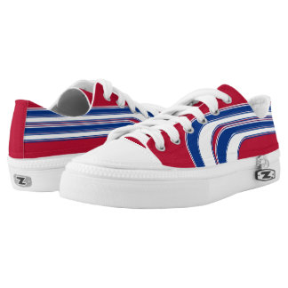 Red White and Blue Sojourn Max Low Tops