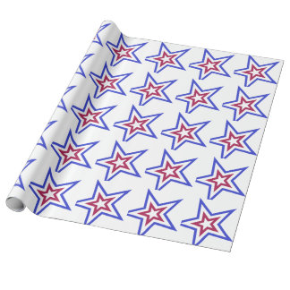 Red White and Blue Star