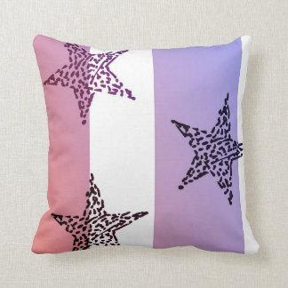 Red, White and Blue Stars and Stripes Throw Cushions